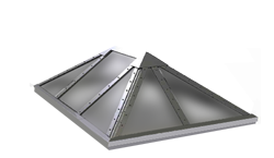 vented skylight drawing